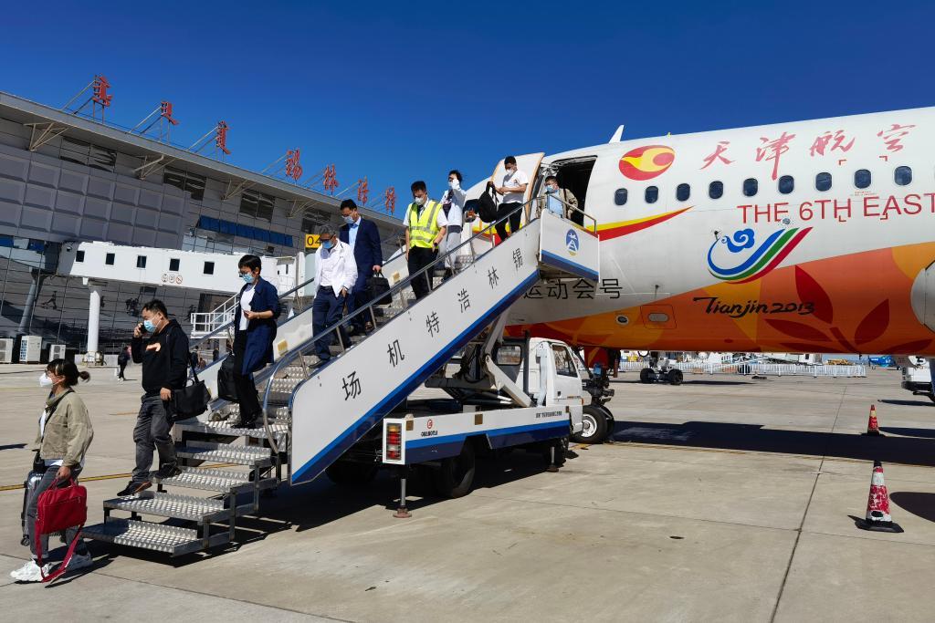 """內蒙古:機場""""互聯互通""""讓更多旅客享受直飛"""